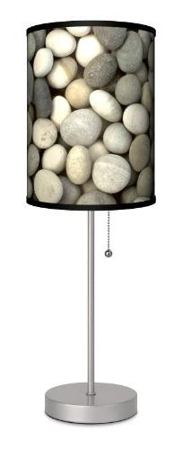 Lamp-In-A-Box SPS-DEC-GREYS Dcor Art - Grey Stones Sport Sil