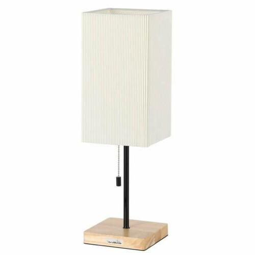 bedside table lamp square nightstand desk lamp