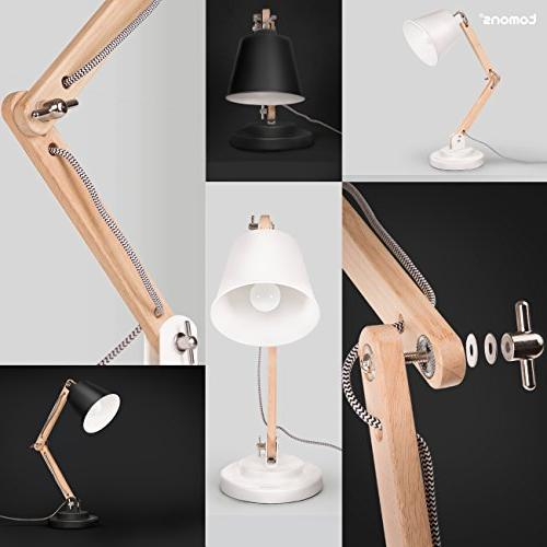 Tomons Wood Lamp, Reading Lights Bulb for Room and