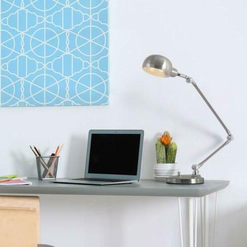 Swing Architect Lamp Lamp Office Silver