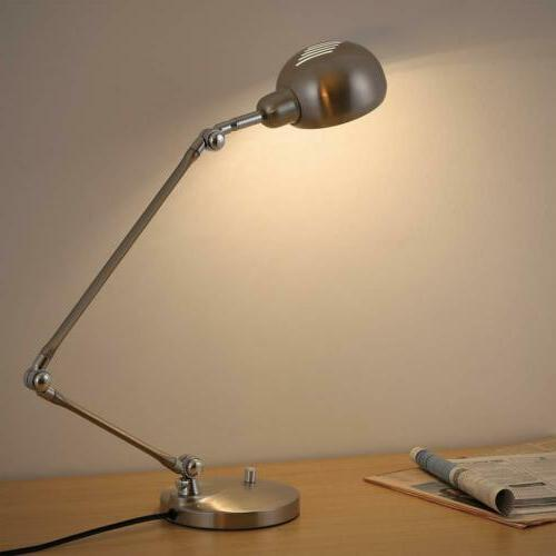 Swing Architect Table Lamp Lamp for Office Bedroom Silver