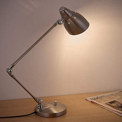 HAITRAL Swing Desk Lamp Modern with Multi-Joint and Flexible Adjustable