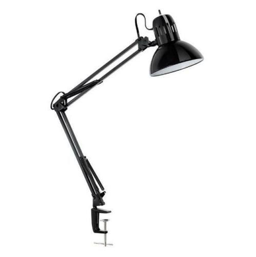 Swing Arm 32 H Table Lamp with Bell Shade