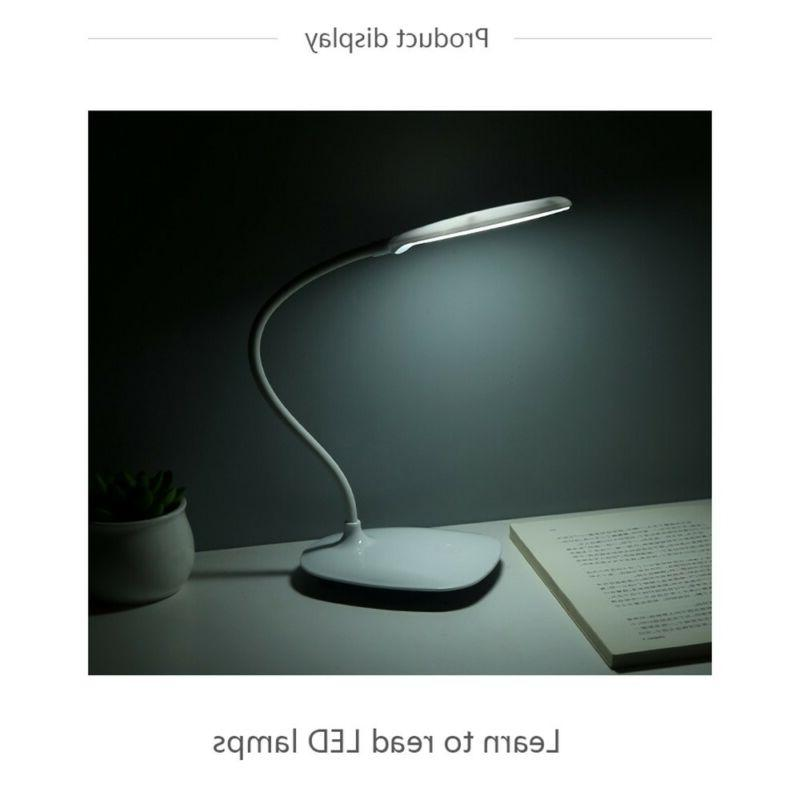 Table Light Desk Lamp With Port Home Dimmable Lighting
