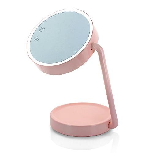 tenergy cordless led vanity mirror portable multifunctional