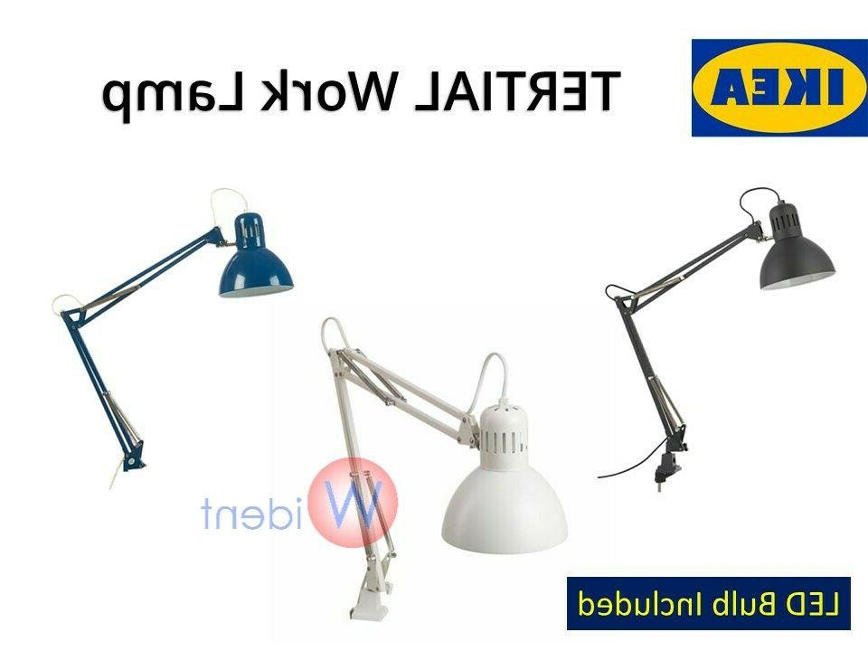 tertial work lamp with led bulb