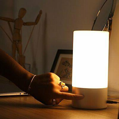 Touch Sensor Lamps Warm White & Color Change