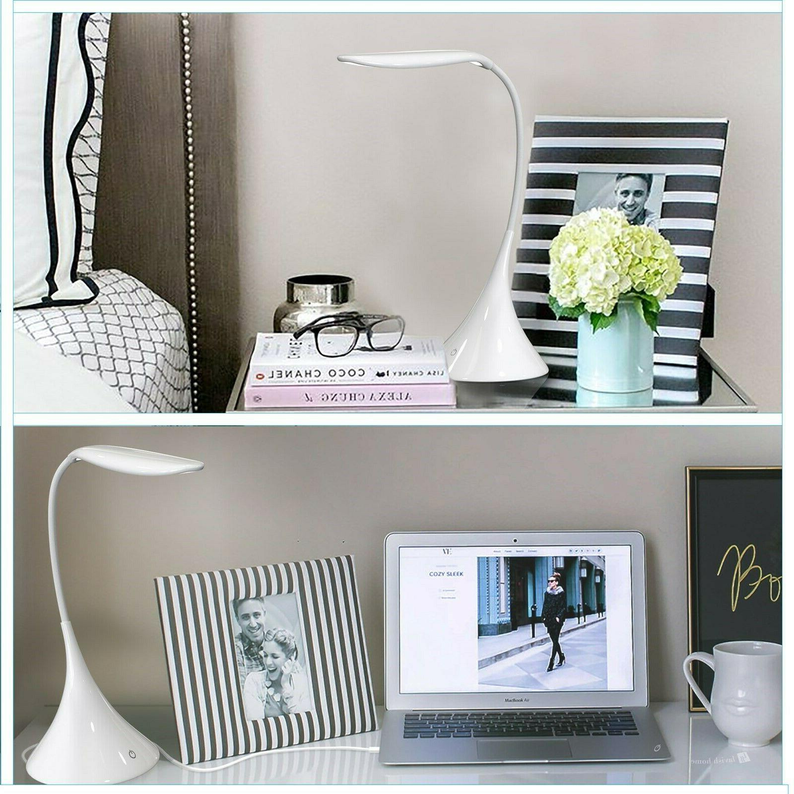 Touch Desk Dimmable Operated Gooseneck Bed