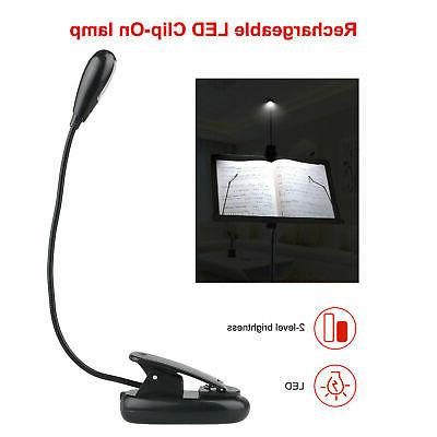 USB Rechargeable LED Dimmable Desk Reading
