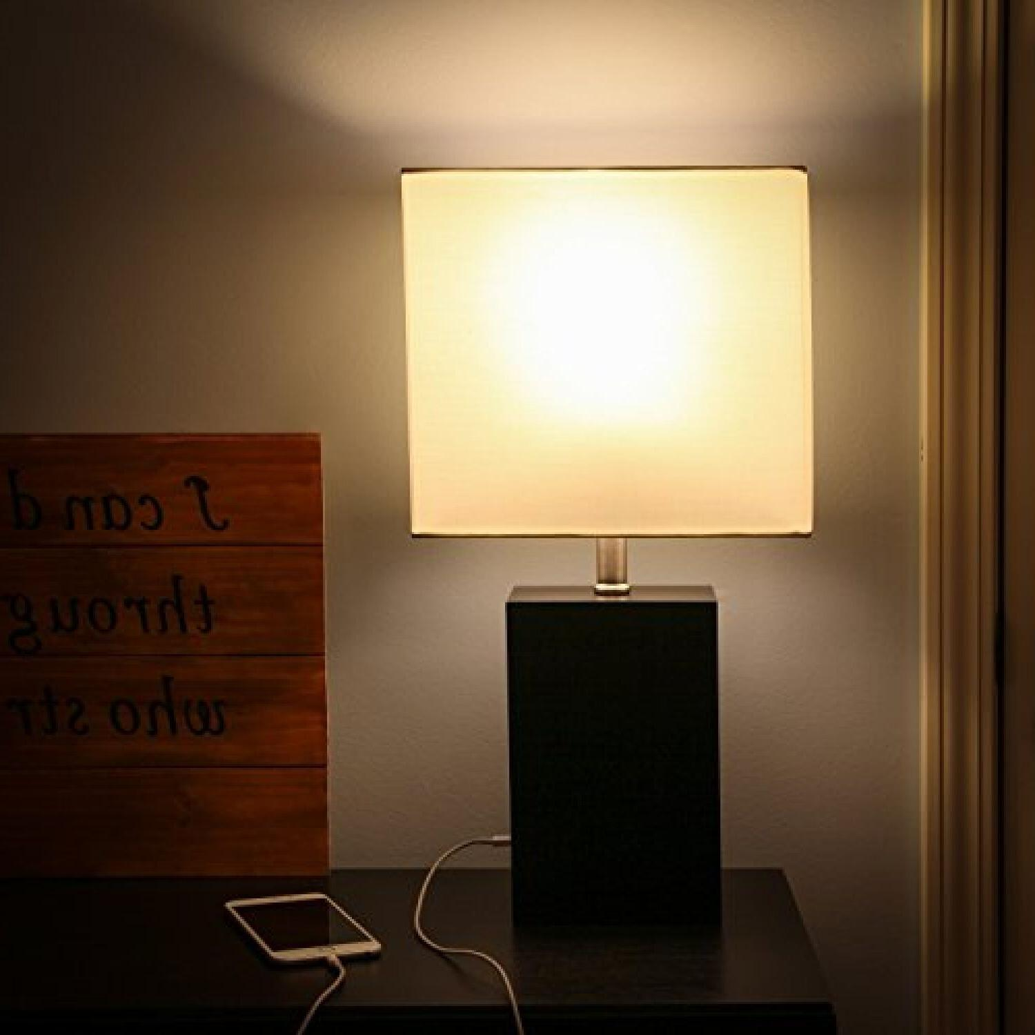 USB Desk Led Modern Lamps Port For Phones