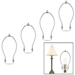 4 Pack 8 inch Lamp Harp Holder for Table and Floor Lamps