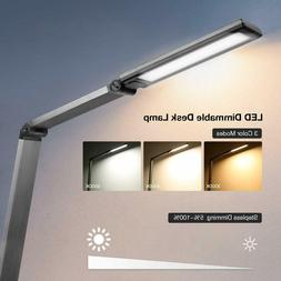LE LED Desk Lamp, Eye-Caring Table Lamps, Dimmable Office La
