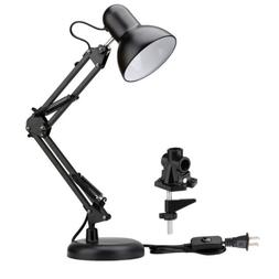 LE Swing Arm Desk Lamp C-Clamp Table Lamp Architect Drafting