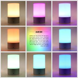 LED Atmosphere Desk Table Bedside Lamp Light Touch Dimmable