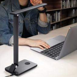 MoKo LED Desk Lamp, Smart Touch Stylish Metal Table Lamp,Rot