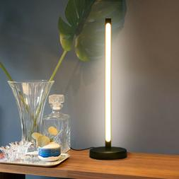 LED Desk Lamp Table Bedside Reading Lamp Touch Type Vertical