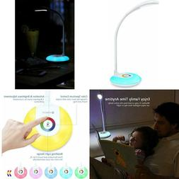 LED Desk Lamp with USB Charging Port, Eye-caring Table Lamp