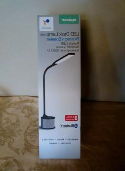 Tenergy LED Gooseneck Desk Lamp Built-in Bluetooth Speaker U