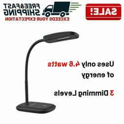LED Light Table Desk Lamp Adjustable Reading Small Modern Of