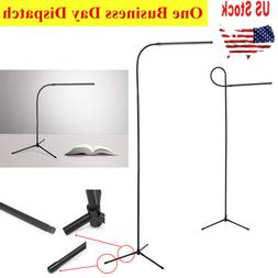 LED Reading Floor Lamp Adjustable Height DIY Table Light / D