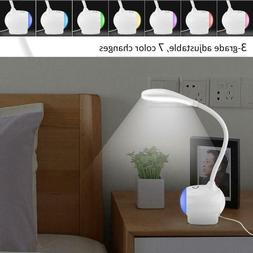 LED Table Lamp Smart Touch Sensor Flexible Desk Lamp Dimmer