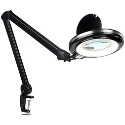 Brightech LightView PRO - LED 2.25x Magnifying Glass Desk La
