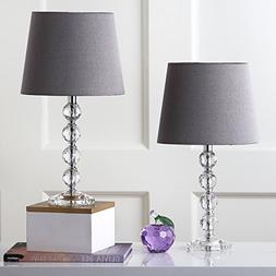 Safavieh Lighting Collection Nola Stacked Crystal Ball 16-in