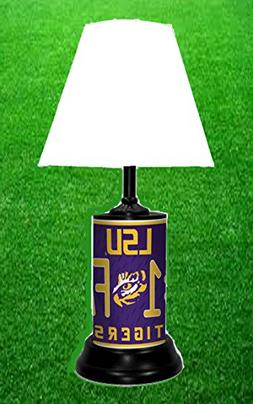 LSU TIGERS NCAA LAMP - BY TAGZ SPORTS