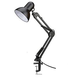 100% Metal Swing Arm Desk Lamp, Vanlay Architect Clip On Tab
