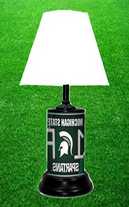 Wondrous Michigan State Spartans Ncaa Lamp By T Home Interior And Landscaping Palasignezvosmurscom