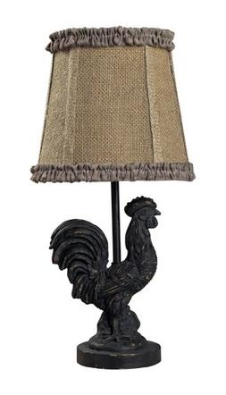 "Dimond Lighting 93-91392 Mini Rooster Table Lamp, 5"" x 7"" x"