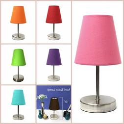 Mini Table Lamp Living Room Lamps Small Contemporary Desk Ta