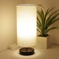 DEEPLITE Table Lamp, Small Table Lamp with LED Bulb Included