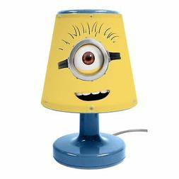 DESPICABLE ME MINIONS BEDSIDE LAMP CHILDRENS BEDROOM NIGHT L