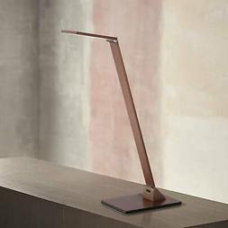 Modern Desk Table Lamp LED Touch Switch French Bronze for Li