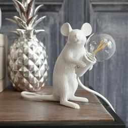 modern Resin Animal Rat Mouse Table <font><b>Lamp</b></font>
