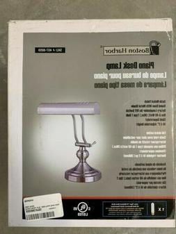 "NEW Boston Harbor piano desk lamp 14.5"" adjustable height sa"