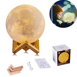 Night Light 3D Moon Lamp USB Charging Night Light Baby Nurse