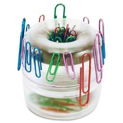 OIC Officemate Euro Style Designer Paper Clip Holder - 1 Eac