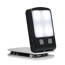 Rechargeable Book Light, Portable Clip on Book Reading Light