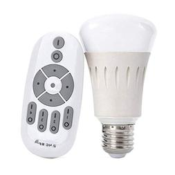 iThird Remote Control LED Light Bulbs Dimmable Color Tempera