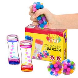 Sensory Toy Package by Vital Toys/4-Pack Autism Toys/Include