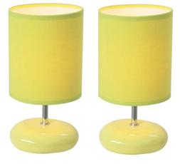 Simple Designs Stonies Table Lamp  - Finish: Green
