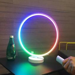 Smart LED Desk Lamp Dimmable Night Light Color Changing RGB