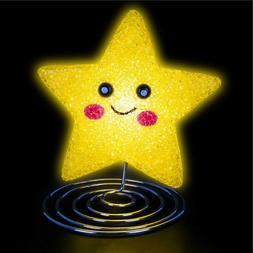 SMILE STAR LAMP kids children room table bed desk night ligh