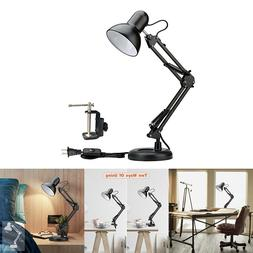 Swing Arm Desk lamp Architect Drafting Table Clamp On Light