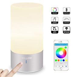 SOLLED LED Table Lamp with Bluetooth Speaker, Smart APP Atmo