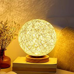 Table Lamp Bedside Desk Lamp Night Light for Kids Gift for W