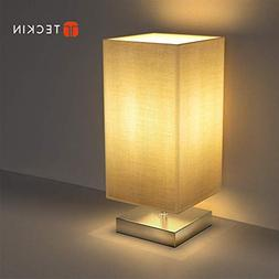 Table Lamp, Bedside Table Lamp TECKIN Bedside Desk Lamp with