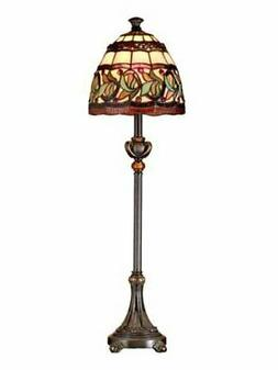 "Dale Tiffany TB101109 Aldridge Buffet Lamp, 9"" x 9"" x 30"", A"